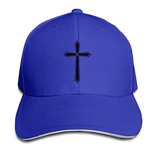 Christian Jesus Cross Snapback Sandwich Baseball Unisex Hat Ash