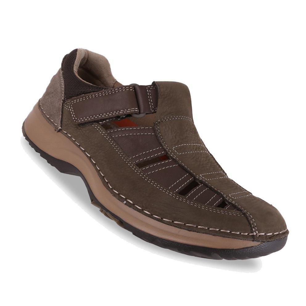 Rockport RSL Five Fisherman - Sepatu Pria - Coklat