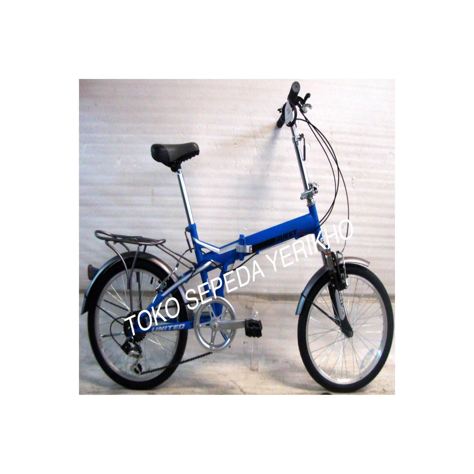 Sepeda Lipat 20 United Quest CL-02 Boncengan