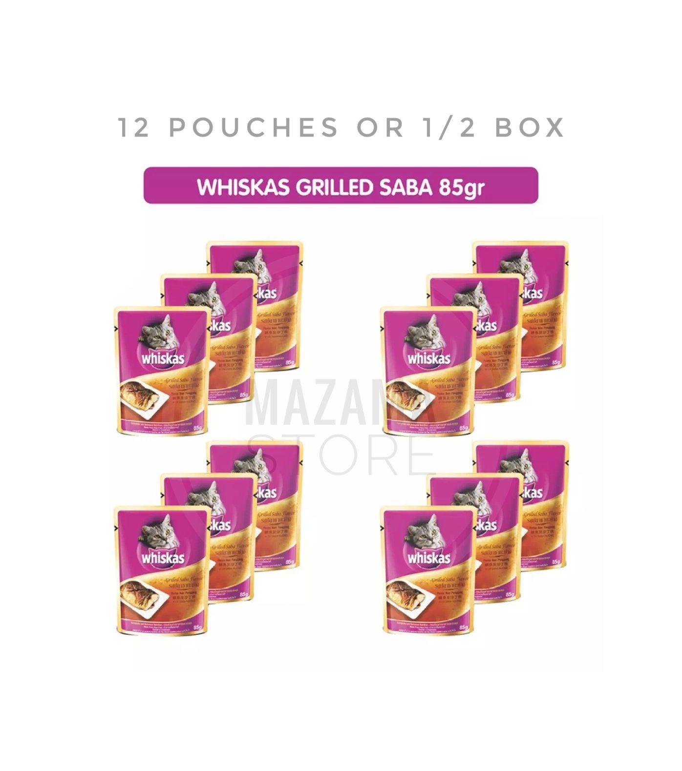 Buy Sell Cheapest Whiskas Pouch Chicken Best Quality Product Deals Isi 24 Pack 85gr Makanan Kucing Rasa Grilled Saba 12 Pouches Untuk Dewasa In Jelly With Wet Cat Food 85 G Adult