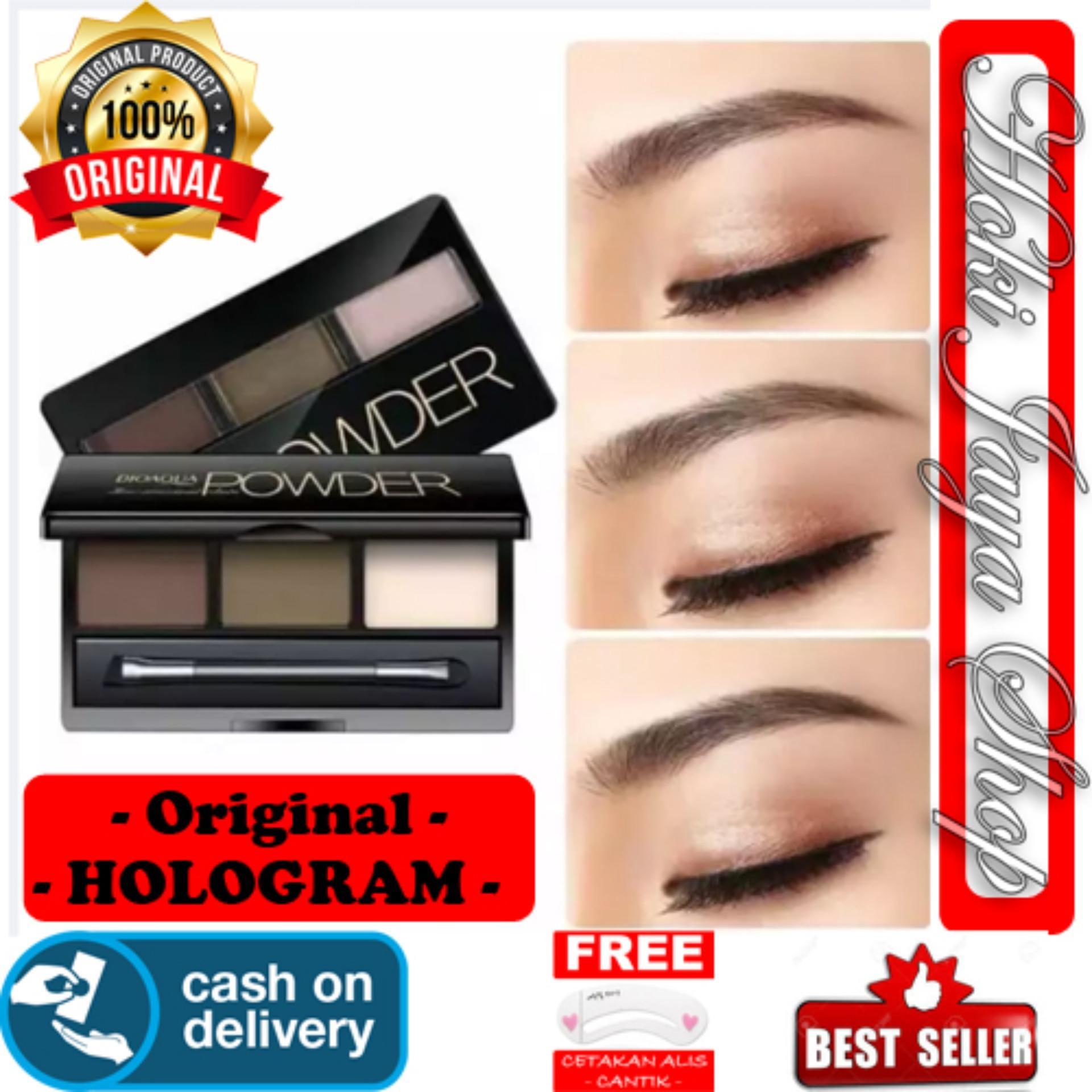 Buy Sell Cheapest Promo Cantik Eyebrow Best Quality Product Deals Template Cetak Alis Gagang Hoki Cod Bioaqua Professional Kit Eyeshadow Powder Menow Shezi Wax Palette Makeup
