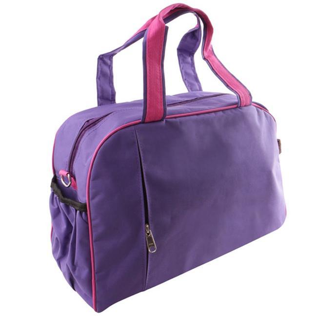 Gym Sport Bag Organizer Tas sepatu olahraga shoes olah raga tenis basket badminton fitnes senam futsal aerobic - Purple Ungu