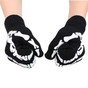 Sarung Tangan Touch Glove Skull Skeleton Design for Smartphone