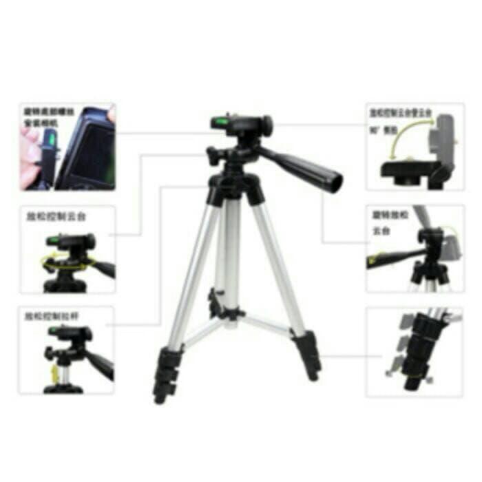 Promo TRIPOD WEIPRENG WT 3110A untuk camdig,handycam, DSLR dan hp + holder U original