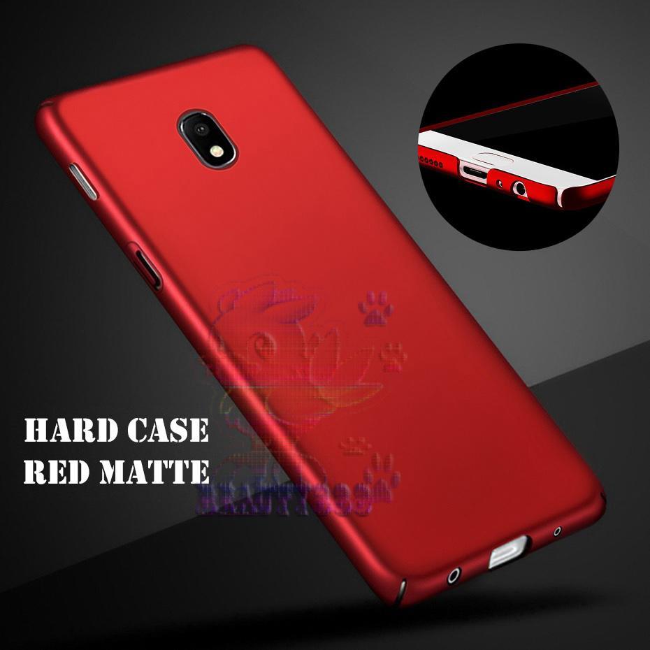 Rp 18.900. Case Samsung Galaxy J3 Pro J330 Hard Slim Red Mate Anti Fingerprint Hybrid Case Baby Skin ...