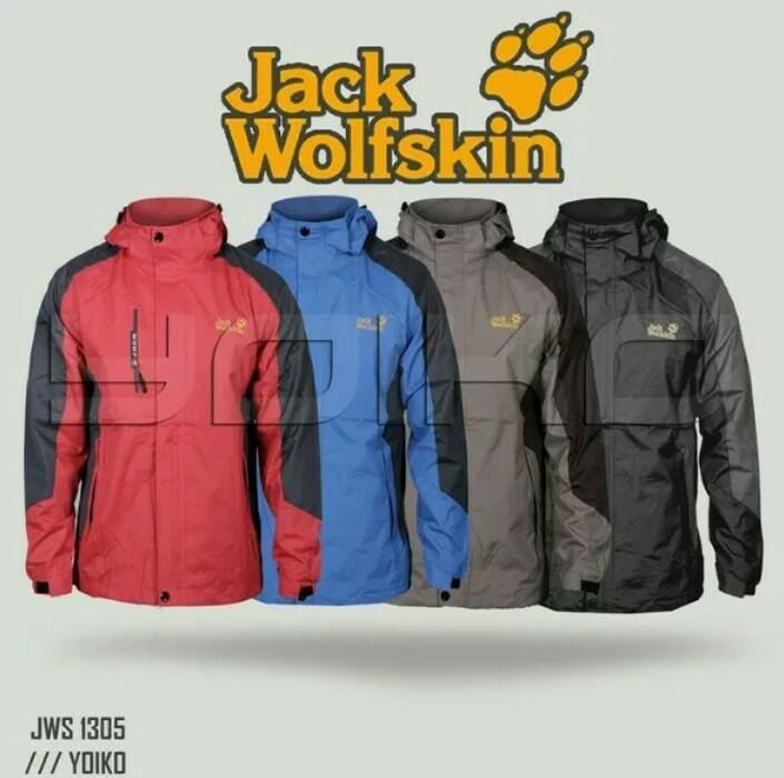 Jaket Gunung Outdoor Jack Wolfskin/JW harga obral cuci gudang
