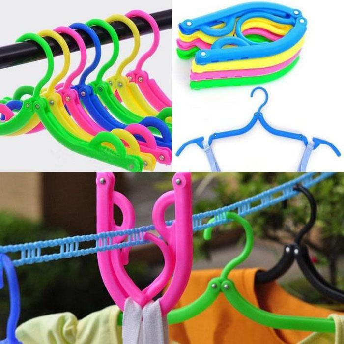 Angela B collection Hanger gantungan baju lipat portable H7B001