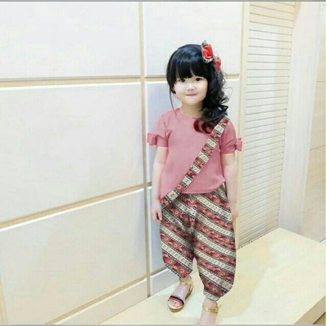 HSNFashion Setelan Anak Perempuan // Setelan Batik // Setelan Kebaya // Baju Anak // Setelan Anak Aza