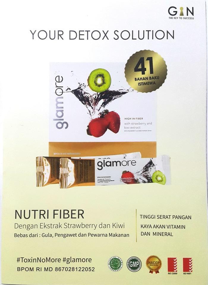 ASLI!!! GLAMORE Nutri Fiber ( DETOX ) - C17Dai