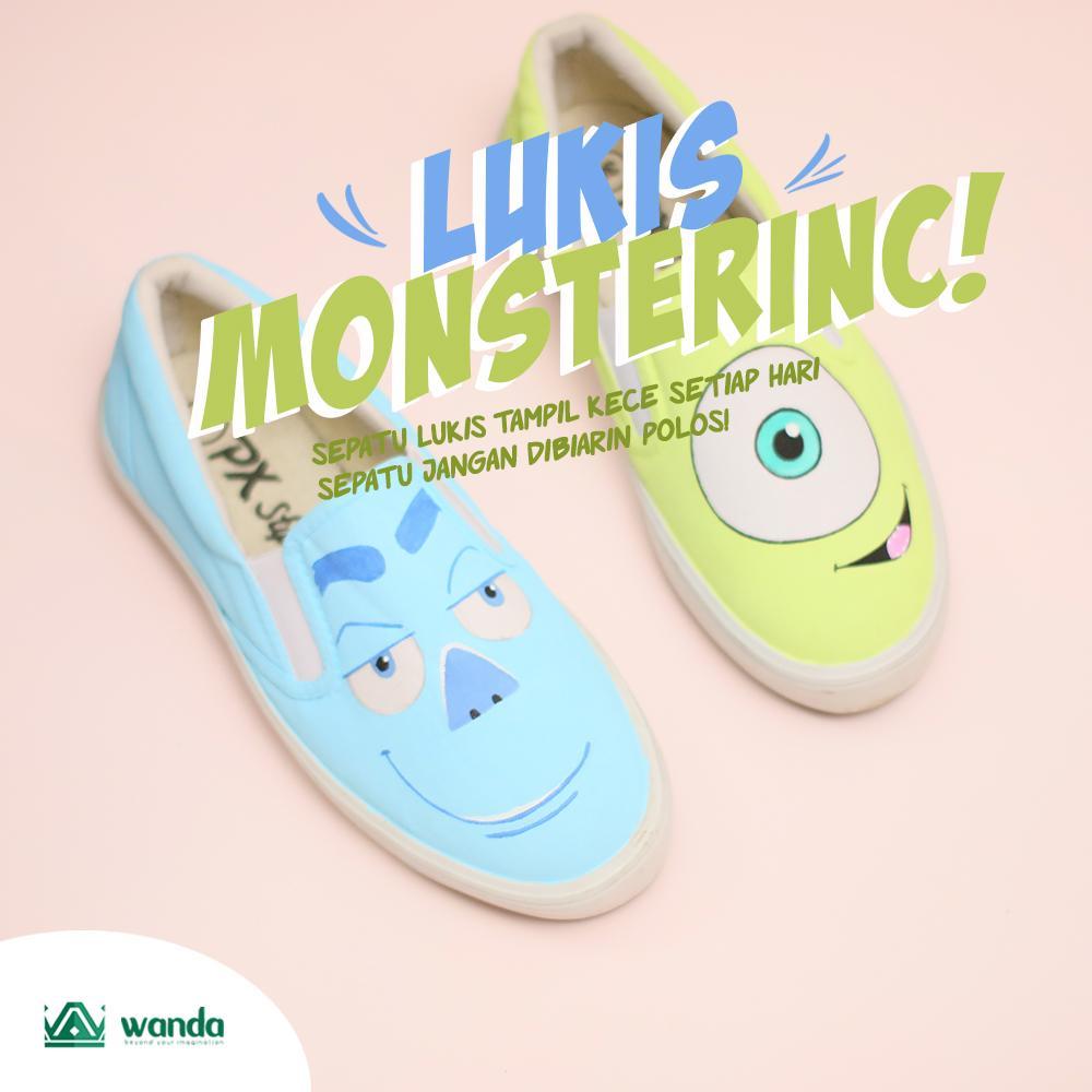 Sepatu Lukis Monters Inc