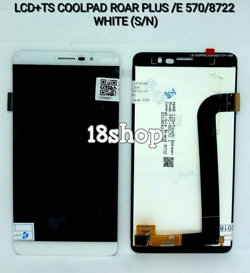 LCD Coolpad ROAR PLUS E570 E 570 E 8722 Original. LCD + Touchsreen Coolpad ROAR PLUS E570 E 570 E 8722. LCD Fullset ROAR PLUS E570 E 570 E 8722