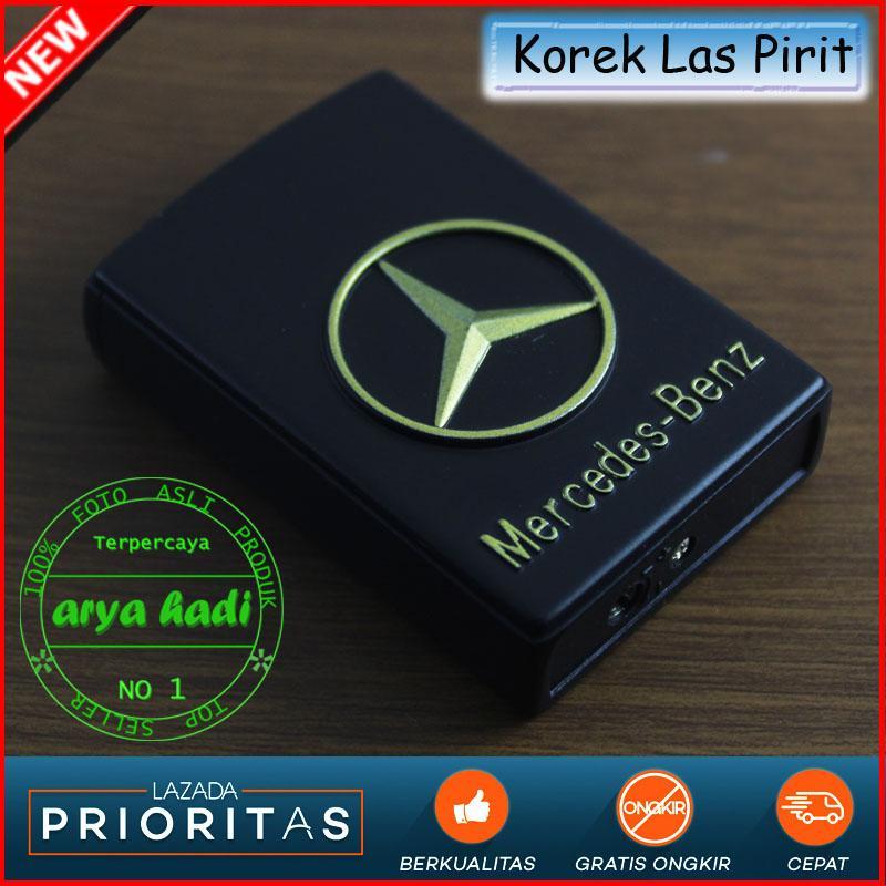 Korek Api Las Pirit Mercedes-Benz 2035-14 Motif Timbul Gas Isi Ulang