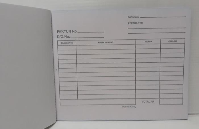 NEW Paperline Buku Faktur 3 Rangkap NCR PROMO