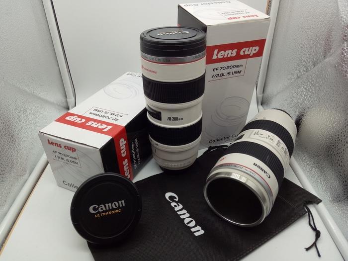 Gelas Tumbler Air Panas Dingin Lensa CANON Ultrasonic ZOOM 70-200mm - a