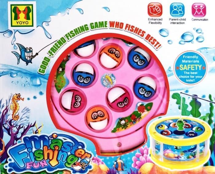 HSA Mainan Pancingan Ikan Master Fishing Fun No.20229 - Kado Anak Murah DISKON