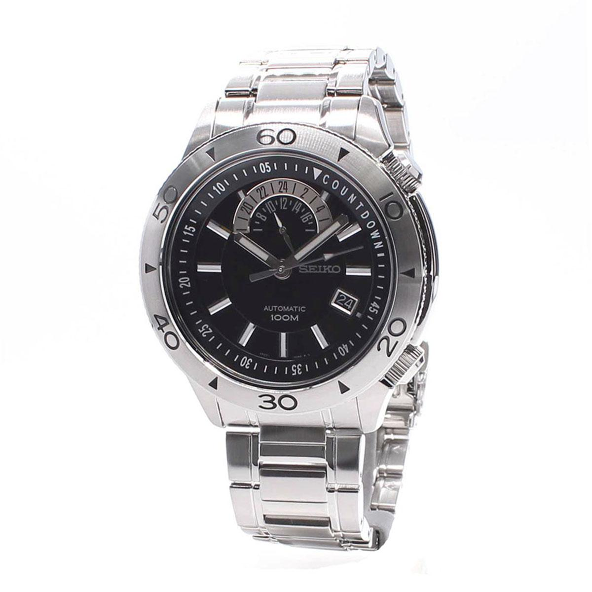 Seiko Analog Superior Automatic Jam Tangan Strap Stainless Steel Sgee73p1 Silver Case Bracelet Mens Nwt