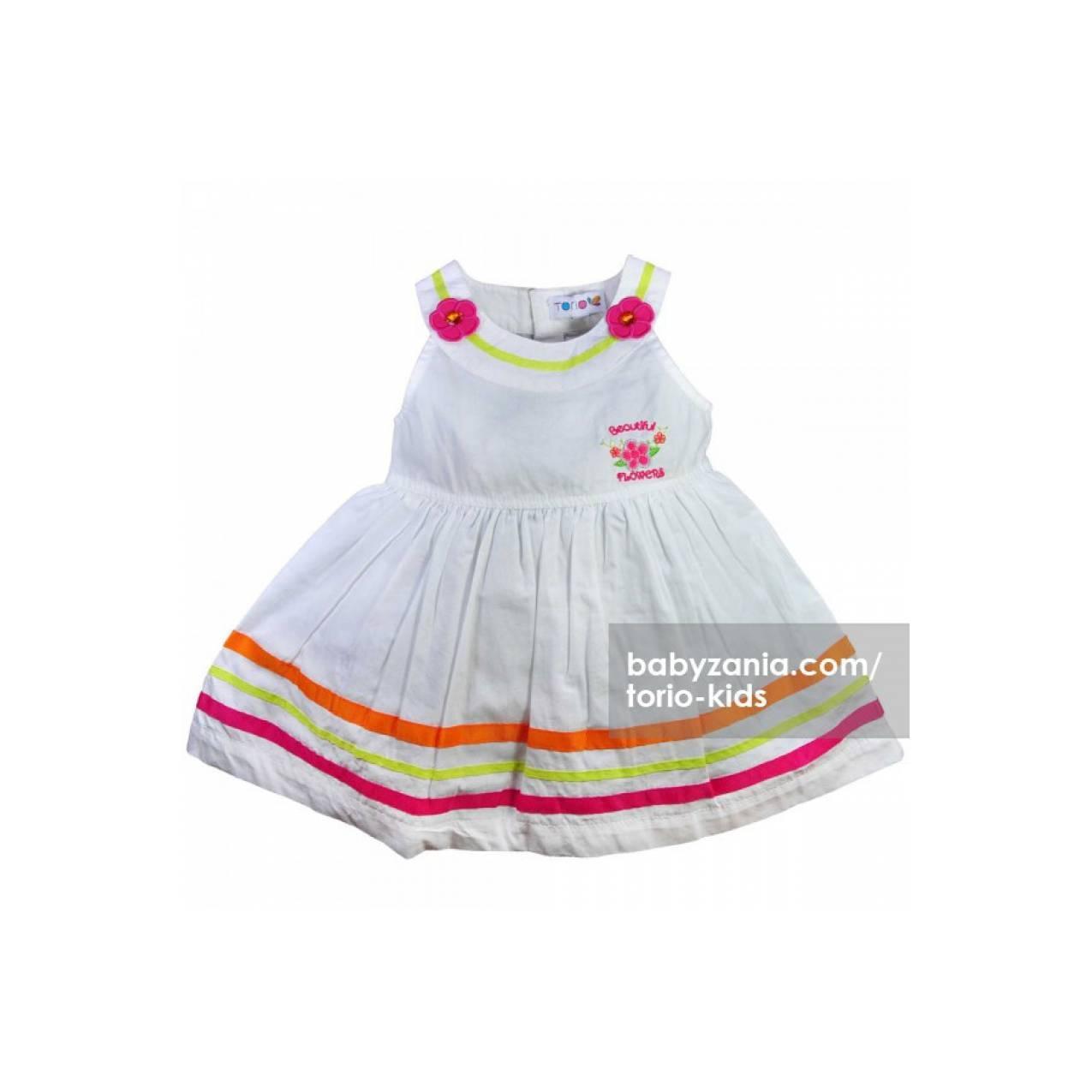 Torio Summer Flower Mini Dress T2909