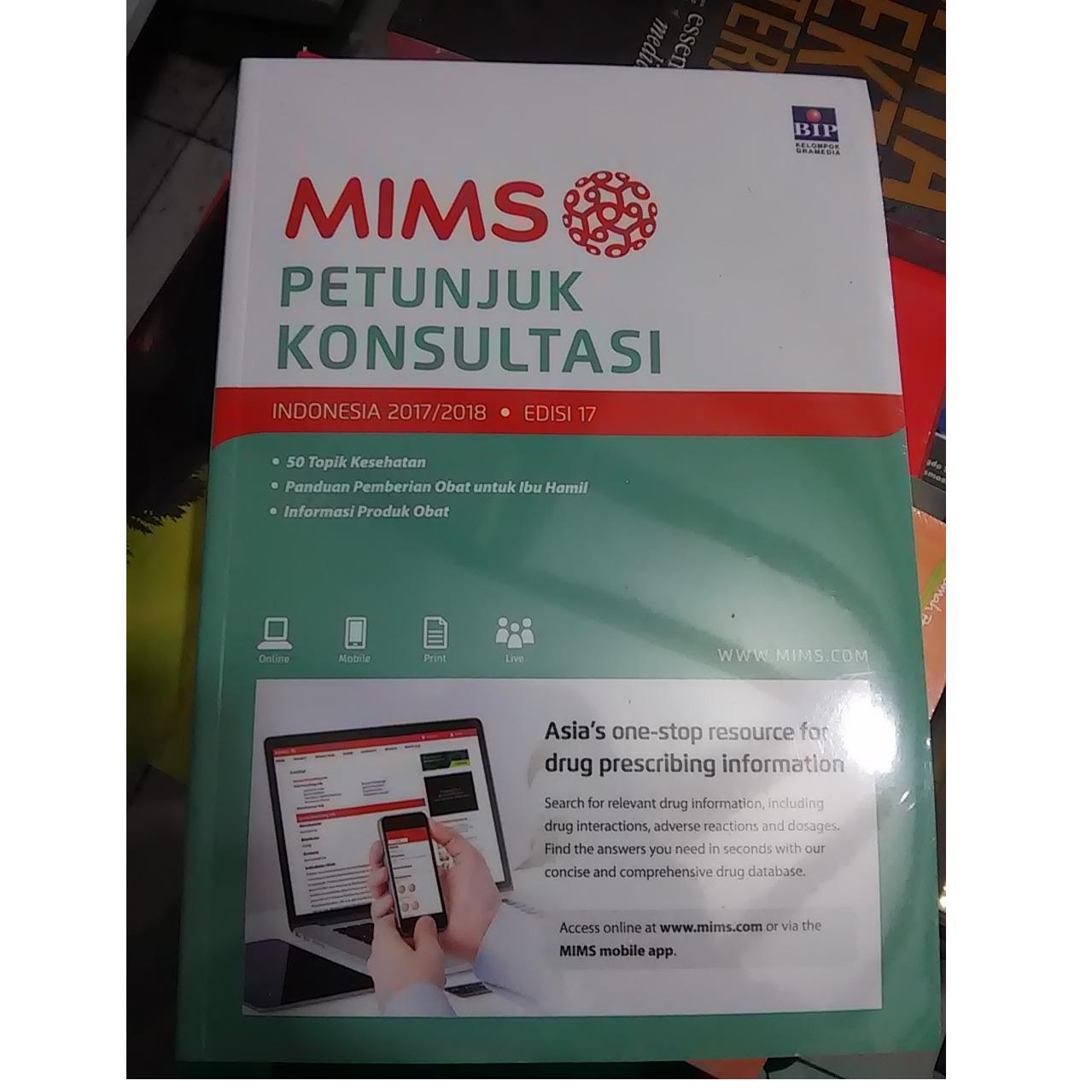 Buku MIMS Petunjuk Konsultasi Edisi 17 Tahun 2017/2018