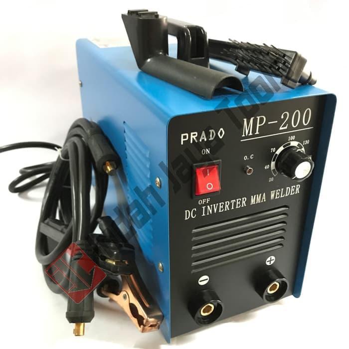 TERMURAH / PRADO Mesin Travo Las Listrik Inverter 200 A MP-200 atas lakoni redbo original