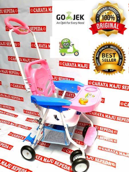 MEJA MAKAN BAYI FAMILY / CHAIR STROLLER CS - 8288 - KUNING