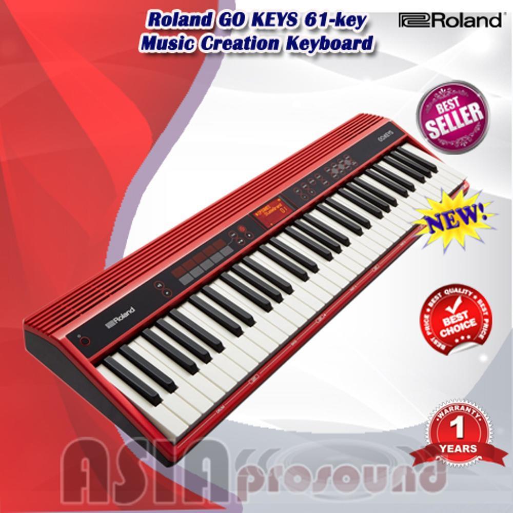 Roland GO KEYS - GOKEYS - GO-KEYS 61-key Music Creation Keyboard