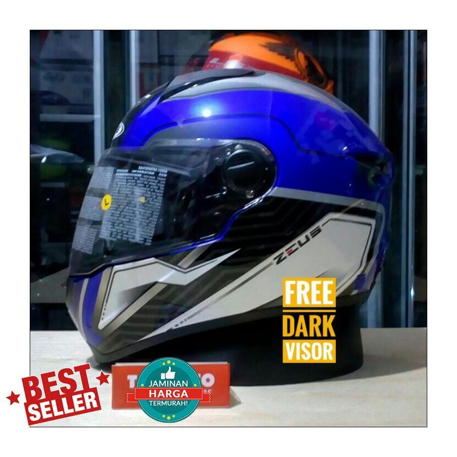 Zeus Helmet Z811 AL16 Blue/Silver