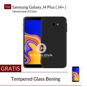 Pencari Harga Caselova UltraSlim Black Matte Hybrid Case for Samsung Galaxy J4 PLUS ( J4+ )