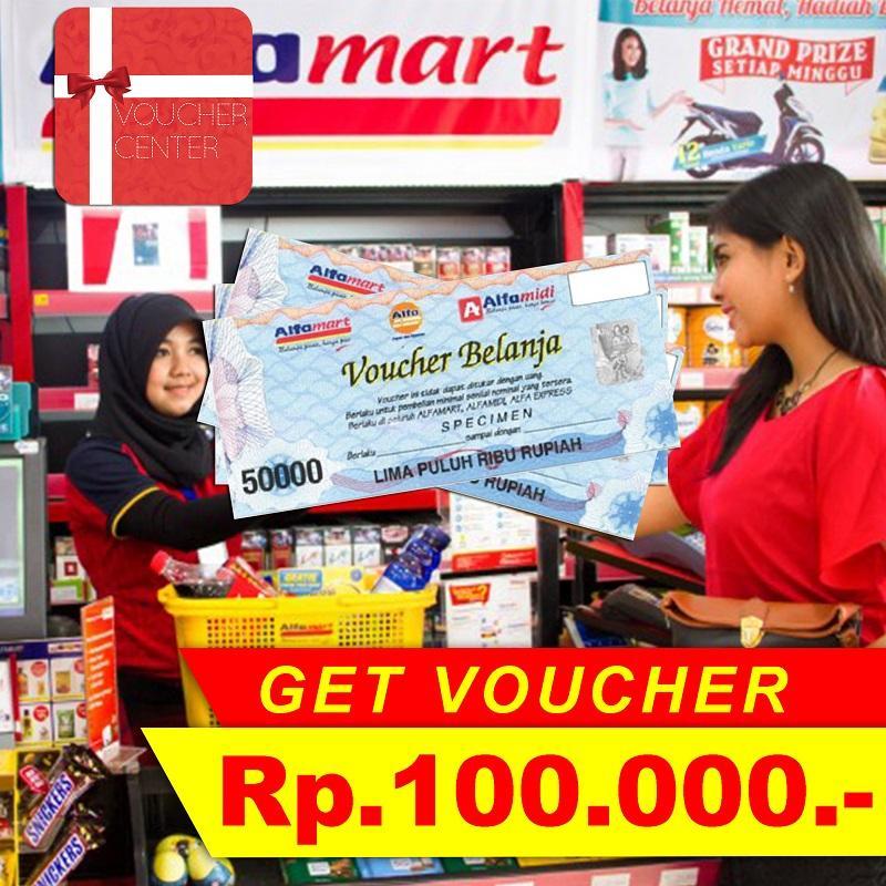 Voucher Alfamart Rp.100.000