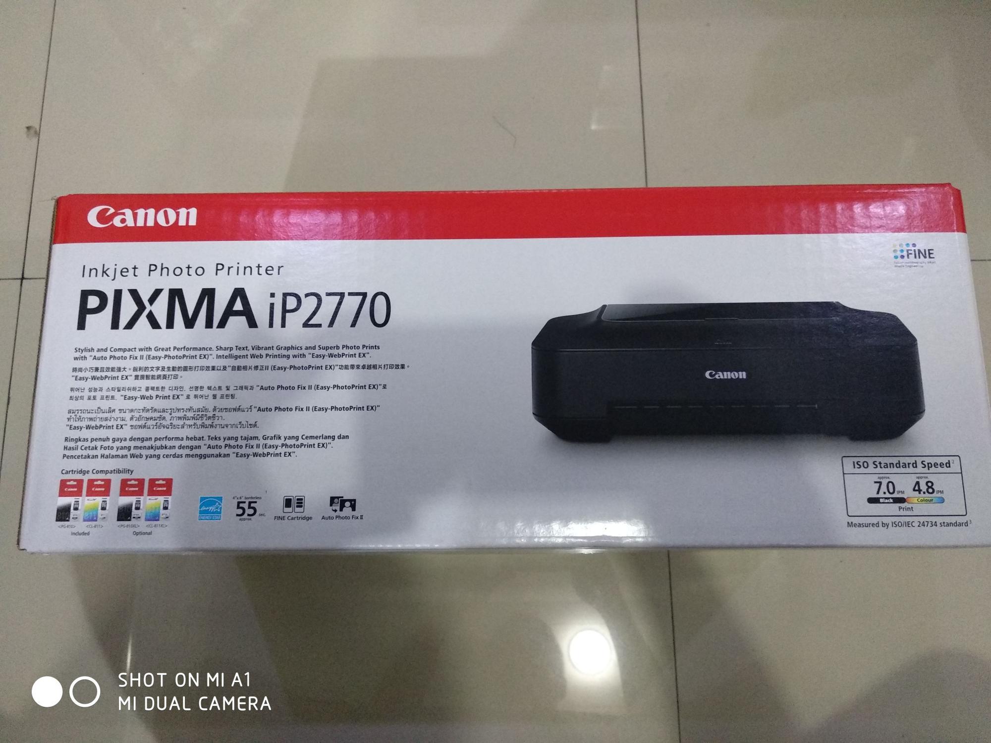 Printer Canon Pixma IP2770