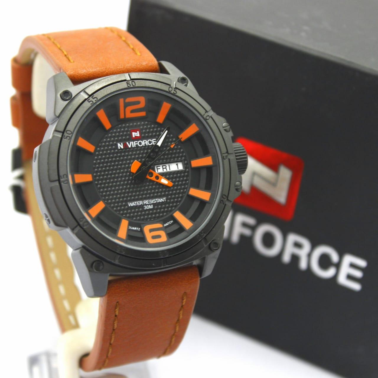 D Force Jam Tangan Pria Strap Combinasi Stainless Steel Hitam Chronoforce 5228mb Merah Navi 9066 Art