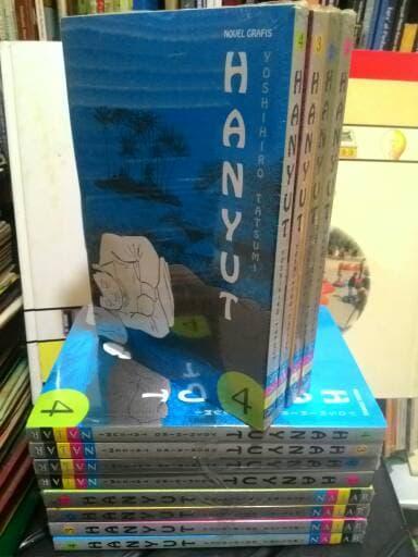 Novel Grafis Hanyut jilid 1-4 Kargan Yosihihiro Tatsumi