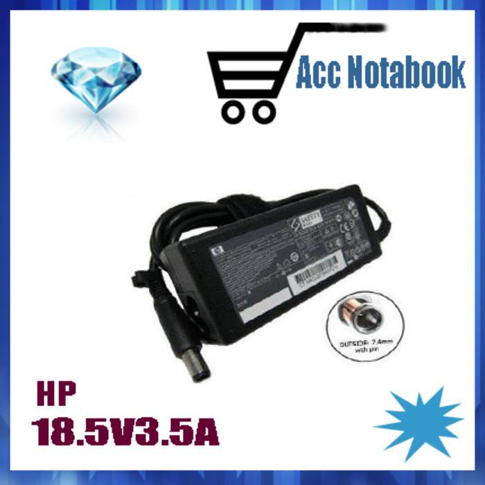 Hot Item!! Adaptor Charger Laptop  18.5V 3.5A Compaq Cq40 Cq42 Cq43 Hp - ready stock