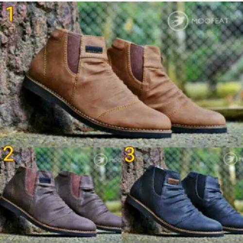 Sepatu boots original moofeat pria boots docmarts murah kickers boots kerja touring