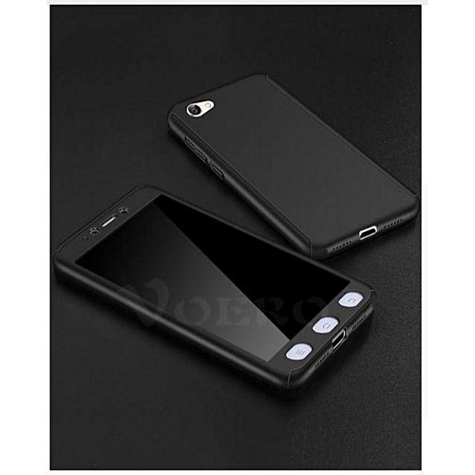 Hardcase Case 360 For Xiaomi Redmi Note 5A Casing Full Body Cover + Free Tempered Glass - YG0709