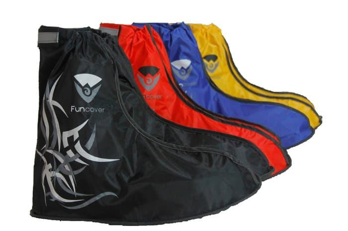 HOT DEALS!! Cover Shoes Jas Sarung Sepatu Anti Air Funcover Original Tribal Series TERMURAH / MURAH / PACKING RAPIH / PENGIRIMAN CEPAT
