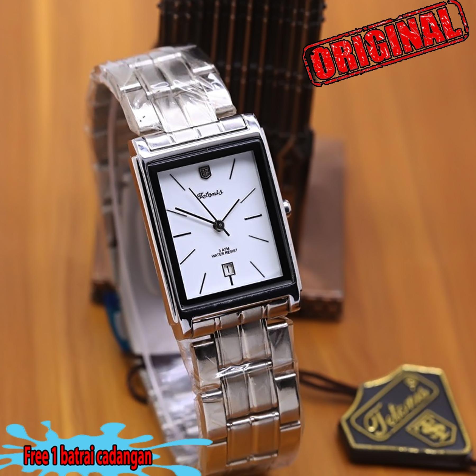 Jam tangan wanita - tetonis - stainless steel ( ORIGINAL )