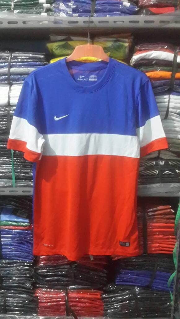 ASLI!!! KAOS OLAHRAGA NIKE DRI-FIT MADE IN INDONESIA 100% ORIGINAL - KYM4j2