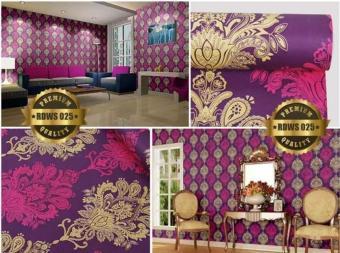 Pencarian Termurah Walpaper Stiker Dinding Motif Batik Ungu Size 45cm x 10m harga penawaran - Hanya Rp39.045