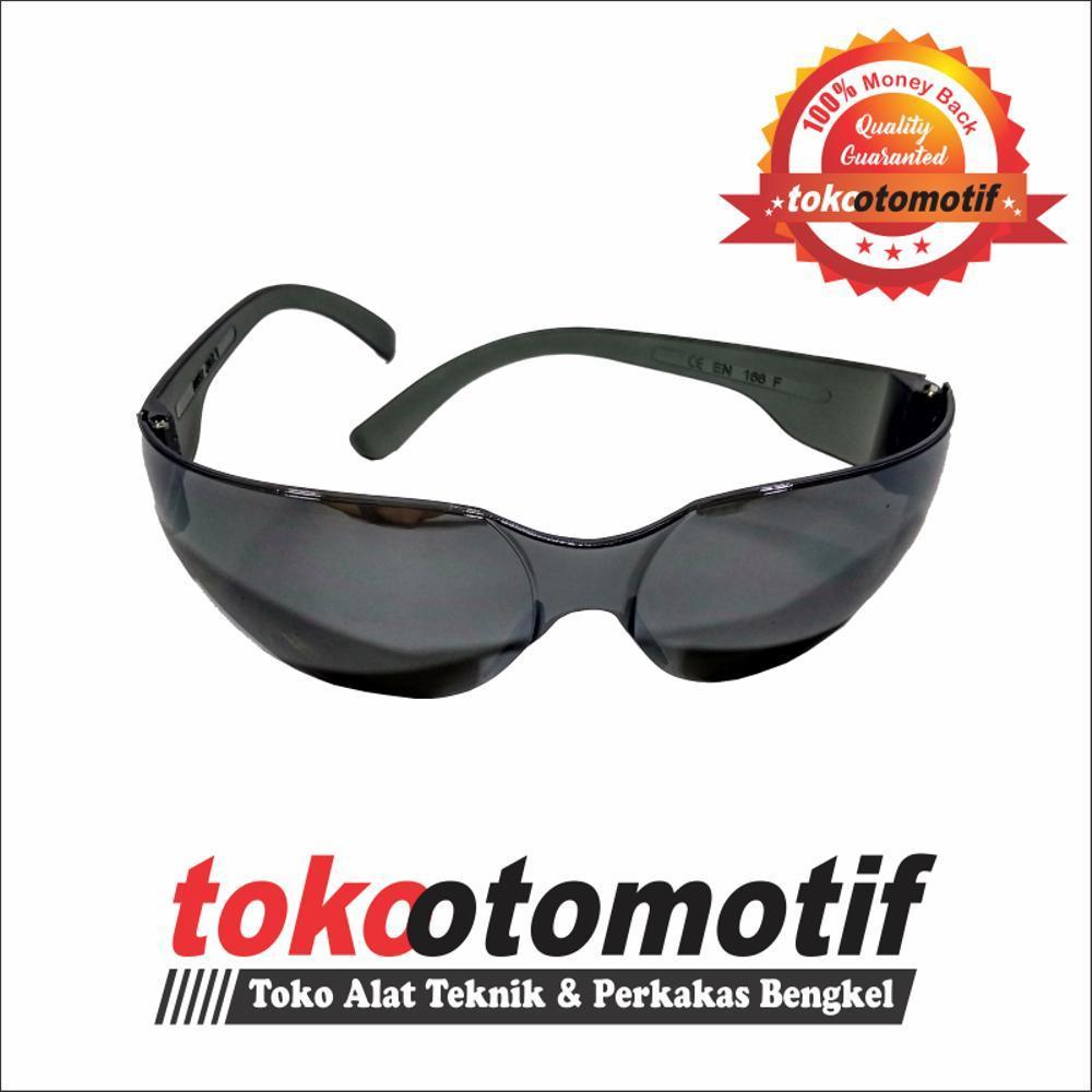 Kacamata Grinda Black 054-04 NANKAI  Kacamata Safety Kacamata bengkel Las - gerinda