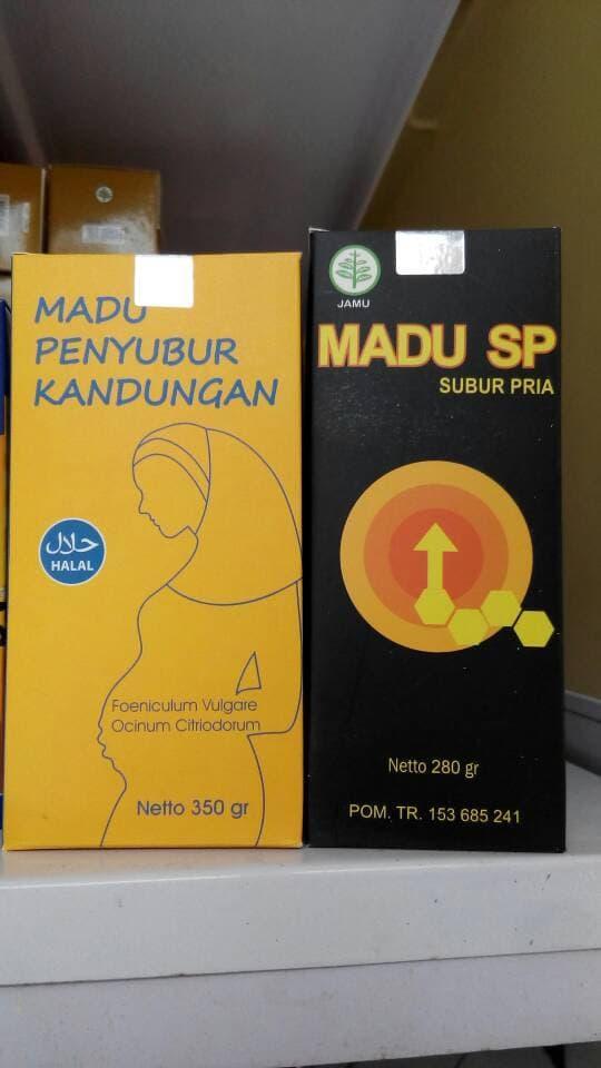 Paket Madu Penubur (penyubur Kadungan + Subur Pria Sp) Mabruroh By Jaya Lestari 88.