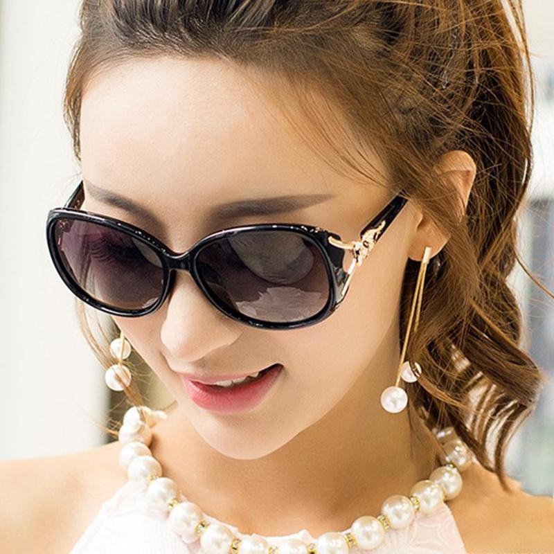 Kacamata Hitam Wanita Wajah Bulat 2018 Model Baru Perlindungan UV Kacamata  Hitam Pasang Model Artis Kaca b3c4ce4ab2