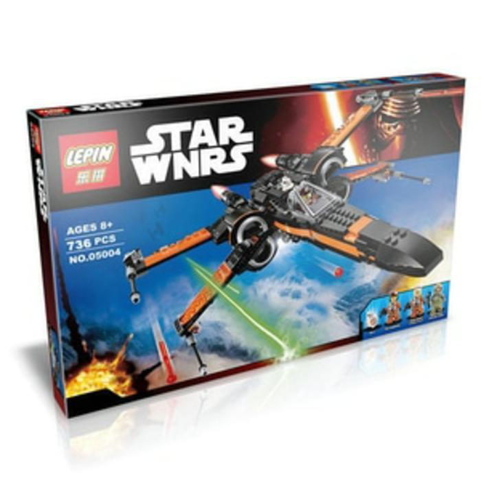 BEST SELLER!!! Lepin 05004 - Bricks Lego - Star Wars - Poe's Wing Fighter - xg7ULU