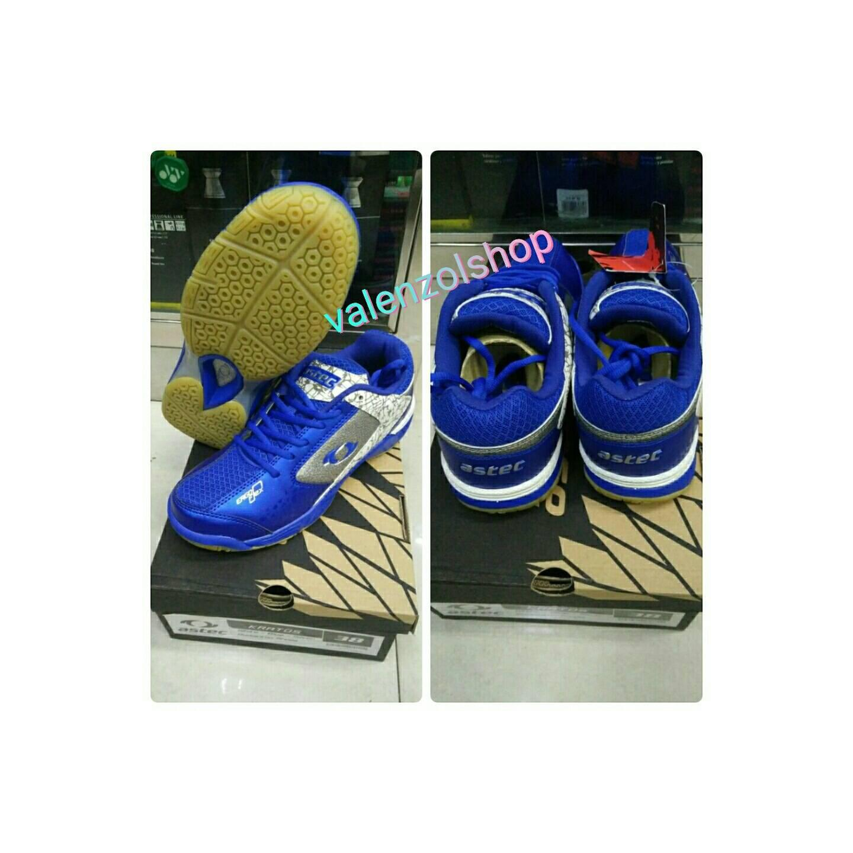 Sepatu Badminton Astec Kratos Blue - ORIGINAL
