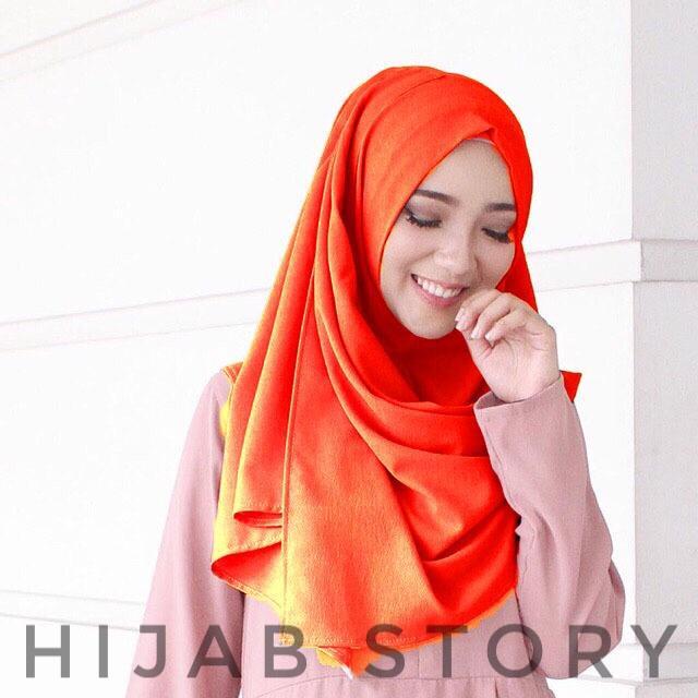 HIJAB STORY KERUDUNG INSTAN GROSIR TERMURAH Pasmina Jilbab Instan Sala PASHMINA