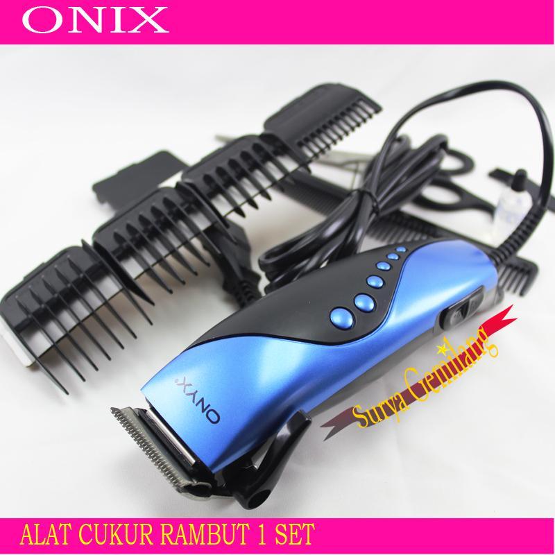 Alat Cukur Rambut Onyx 4609   Hair Clipper Elektrik Set   Mesin Pencukur  Rambut Komplit   a45015d2e3