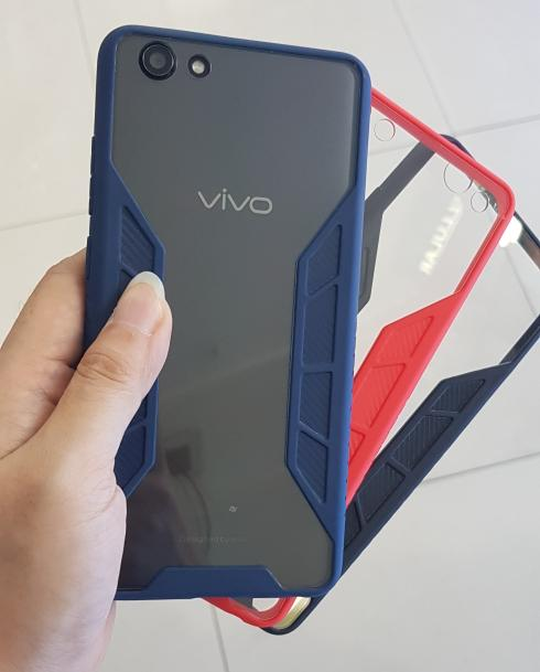 Case Aprolink Carbon Fuze Transparant for Vivo Y71
