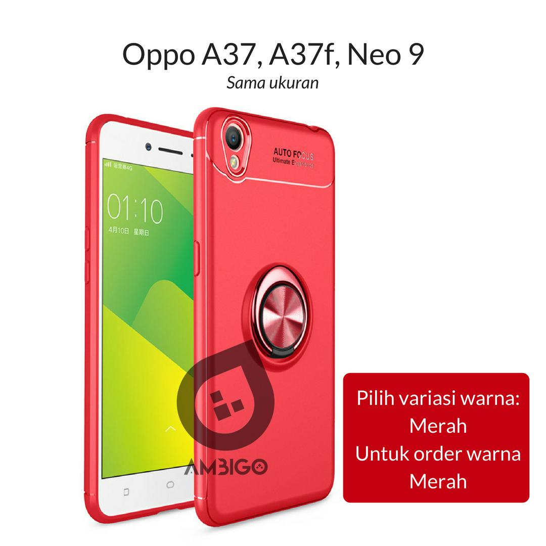 Ambigo Case Oppo A37, A37f, Neo 9 ( sama ukuran ) Ultimate Invisible Ring