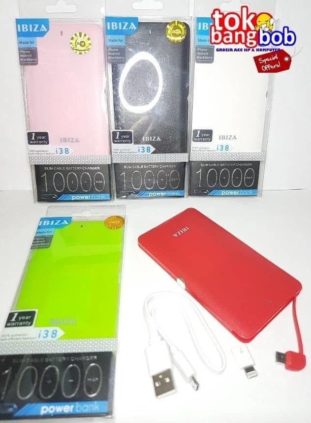 POWERBANK VEGER 10000MAH BY IBIZA