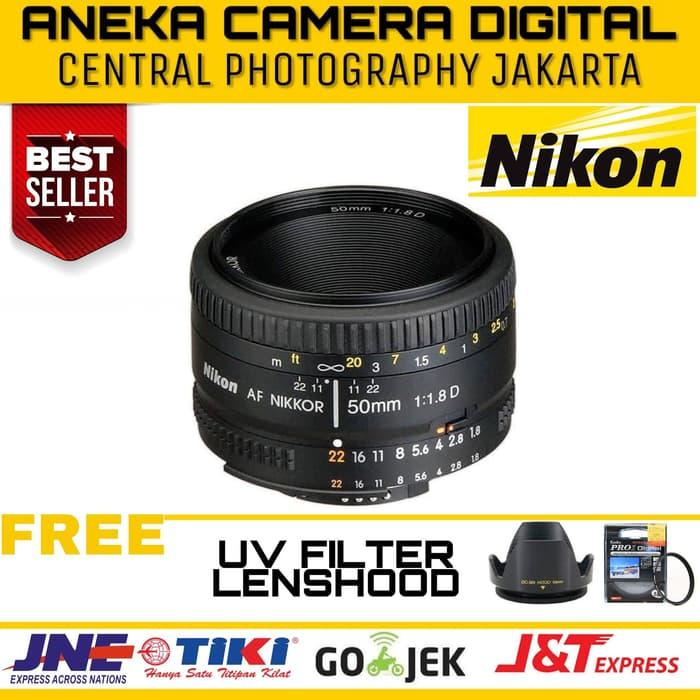 Best Buy Nikon Lensa DSLR - Nikon AF 50mm f/1.8D Nikkor Lens