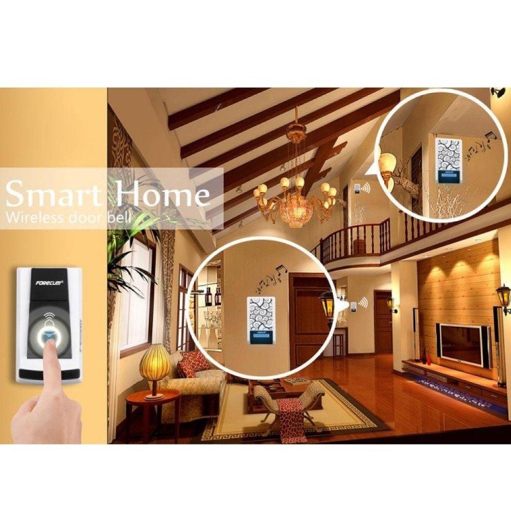 Wireless Door Bell Bel Pintu Tanpa Kabel Beli Harga Murah Linptech Linbell G2 Self Generating Waterproof Rumah Magnet Original Led